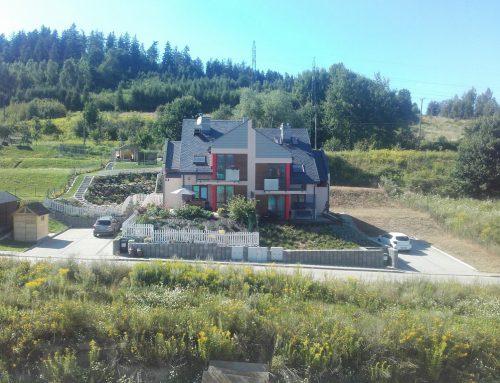 Osiedle domów w zabudowie bliźniaczej w Jeleniej Górze