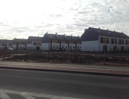 Osiedle domów w zabudowie szeregowej w Zalasewie